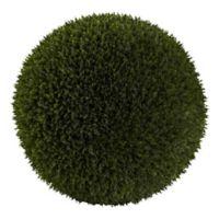 Nearly Natural 19-Inch Artificial Cedar Ball