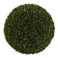Nearly Natural 14-Inch Artificial Boxwood Ball