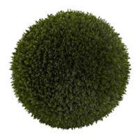 Nearly Natural 14-Inch Artificial Cedar Ball