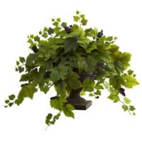Nearly Natural 29-Inch Grape Leaf with Urn