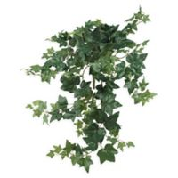 Nearly Natural 32-inch Puff Ivy Hanging Artificial Plant (Set of 3)