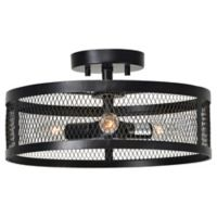 Renwil 3-Light Ceiling Light in Oil Rubbed Bronze