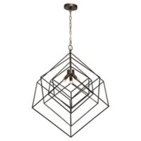 Renwil 3-Light Pendant Light in Antique Silver