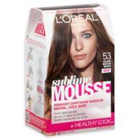 L'oreal® Paris Sublime Mousse Healthy Look Hair Color in Golden Medium Brown