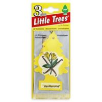 Little Trees 3-Pack Car Fresheners in Vanillaroma