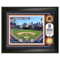 MLB Detroit Tigers Stadium Dirt Photo Mint