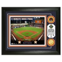 MLB Houston Astros Stadium Dirt Photo Mint