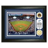 MLB Los Angeles Dodgers Stadium Dirt Photo Mint