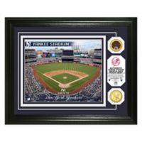 MLB New York Yankees Stadium Dirt Photo Mint