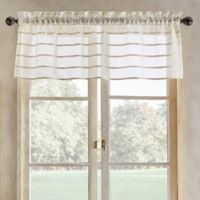 South Beach Tailored Valance in Linen