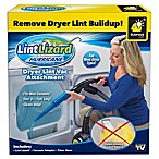 LintLizard® Dryer Lint Vacuum Attachment in Blue/Black