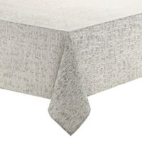 Waterford Linens Monroe 70 Inch X 104 Oblong Tablecloth In Grey