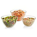 Libbey® Urban Story Glass Bowls (Set of 3)