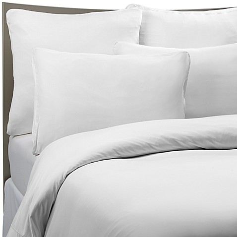 Sheex Performance Bedding Duvet Cover Set In White