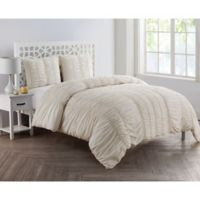 VCNY Home Holly King Duvet Cover Set in Ivory