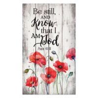P. Graham Dunn Be Still and Know Wood Wall Art