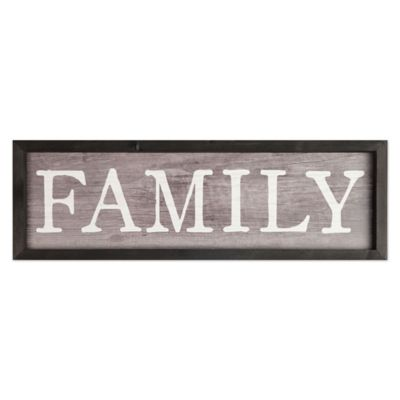 Buy Family Wall Decor from Bed Bath & Beyond