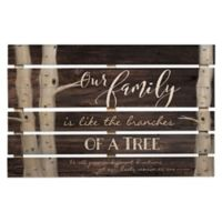 P. Graham Dunn Family Branches 35.88-Inch x 23-Inch Wood Wall Art