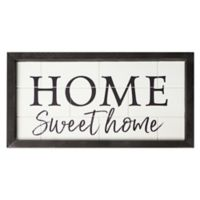 P. Graham Dunn Home Sweet Home Framed Wall Art
