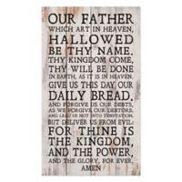 P. Graham Dunn Lord's Prayer Wood Wall Art
