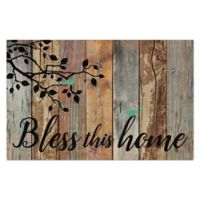 """""""Bless this Home"""" 15.75-Inch x 24.5-Inch Wall Art"""