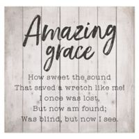 """Amazing Grace"" Wood Pallet Wall Art"