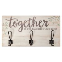 """""""Together"""" Wooden Wall Hook"""