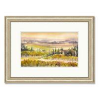 Tuscan Vineyard 27.5-Inch x 20.5-Inch Framed Wall Art