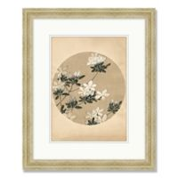 Vintage Flowers 18.5-Inch x 22.5-Inch Framed Wall Art