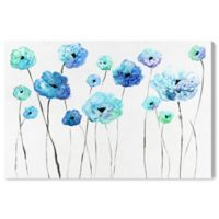 Oliver Gal™ 60-Inch x 40-Inch Cool Toned Florals Fine Art Canvas Print