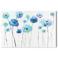 Oliver Gal™ 45-Inch x 30-Inch Cool Toned Florals Fine Art Canvas Print