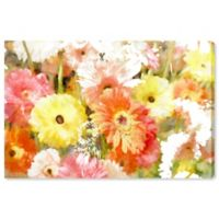 Oliver Gal Orange Yellow Red 15-Inch x 10-Inch Canvas Wall Art