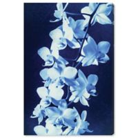 Oliver Gal Orchid Sun Cyanotype 24-Inch x 16-Inch Canvas Wall Art