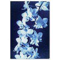 Oliver Gal Orchid Sun Cyanotype 45-Inch x 30-Inch Canvas Wall Art