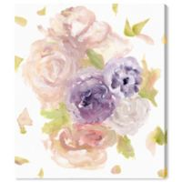 Oliver Gal Cute Pastels 13-Inch x 16-Inch Canvas Wall Art