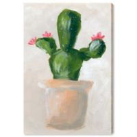 Oliver Gal™ 10-Inch x 15-Inch Cactus Pink Flower Fine Art Canvas Print