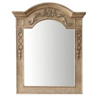 James Martin Furniture 32-Inch x 40-Inch European Traditions Mirror in Empire Linen