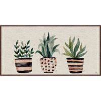 Marmont Hill Three Plants 45-Inch x 22.5-Inch Framed Wall Art