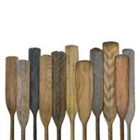 Oars on Wood 30-Inch x 40-Inch Wall Art