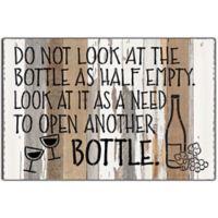 Sweet Bird & Co™ Wine Bottle Reclaimed Wood Wall Art