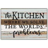 Sweet Bird & Co. The Kitchen 12-Inch x 8-Inch Wood Wall Art