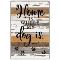 Sweet Bird & Co™ Dog Is Reclaimed Wood Wall Art