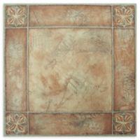 Achim Nexus 20-Pack 12-Inch Spanish Rose Floor Tiles