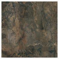 Achim Nexus 20-Pack 12-Inch Dark Slate Marble Floor Tiles in Grey