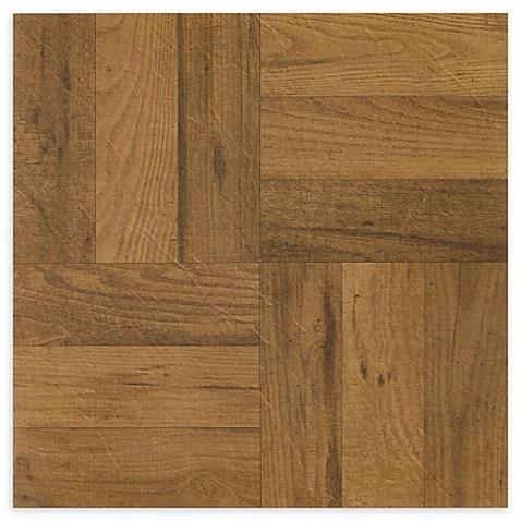 Achim Nexus 20 Pack 12 Inch 3 Finger Parquet Floor Tiles In Medium
