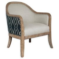 Pulaski Upholstered Wood-Frame Accent Chair