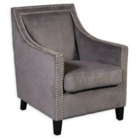 Pulaski Traditional Accent Arm Chair in Grey