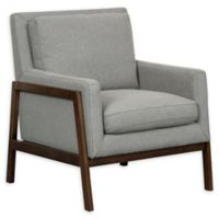 Pulaski Wood Frame Accent Chair in Heather