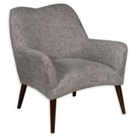 Pulaski Upholstered Modern Arm Chair in Grey