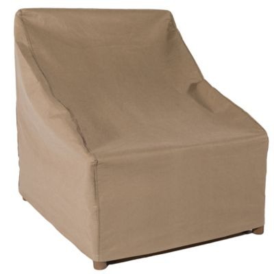 Duck Covers Essential Outdoor 29 Inch Chair Cover In Latte